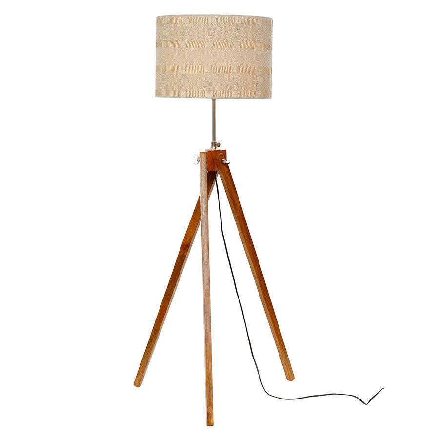 Lampadaire en bois H140
