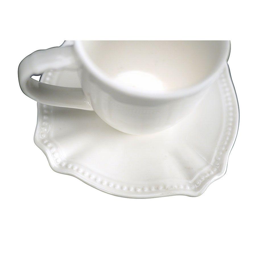 Tasse à café porcelaine (lot de 6)