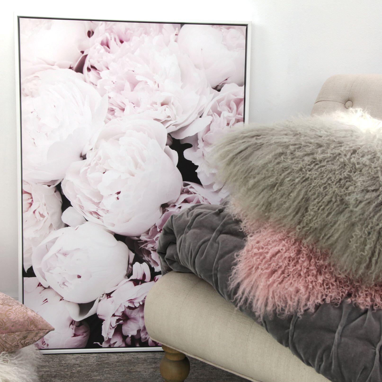 Toile décorative motif floral