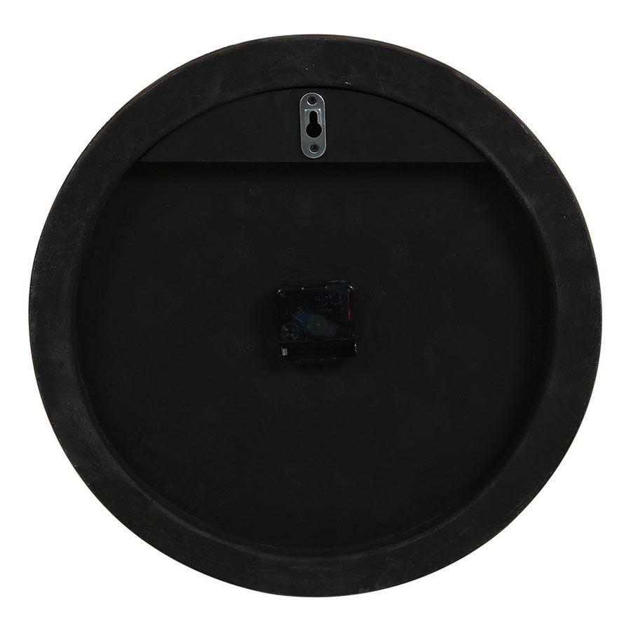Horloge ronde piquetée