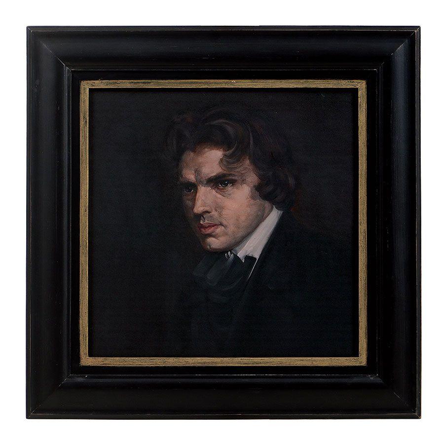 Portrait ancien 70x70