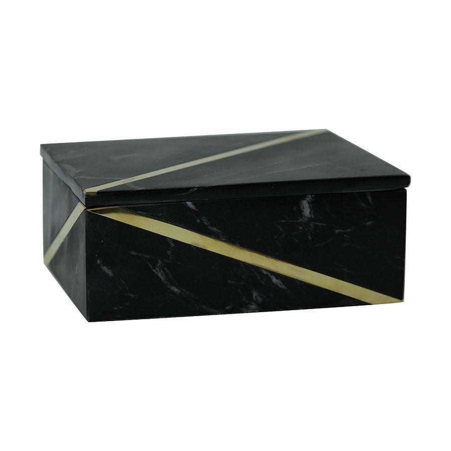 Boîte rectangulaire en marbre