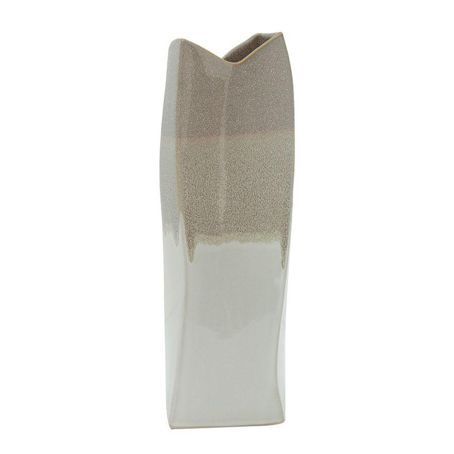 Vase décoratif en céramique asymétrique