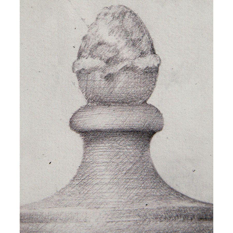 Tableau gravure noir et blanc 60X43