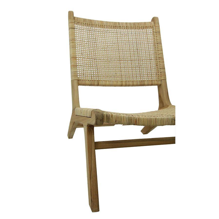 Chaise longue en teck - Ceylan