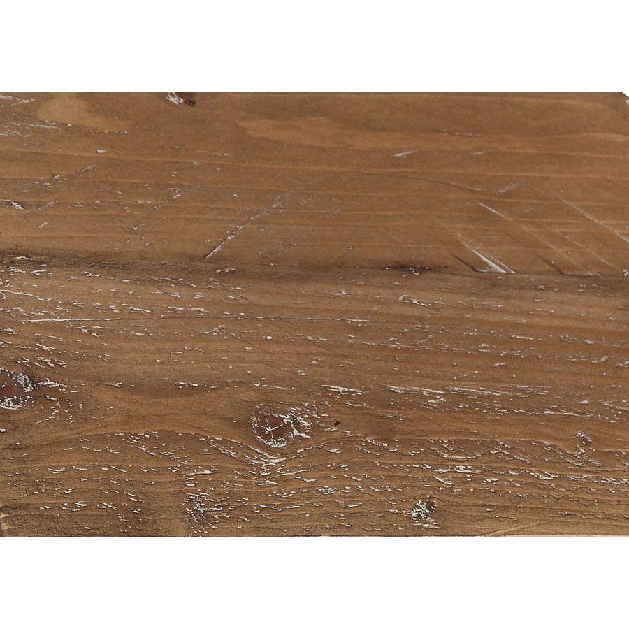 Commode chiffonnier 6 tiroirs en épicéa gris tourterelle - Provence
