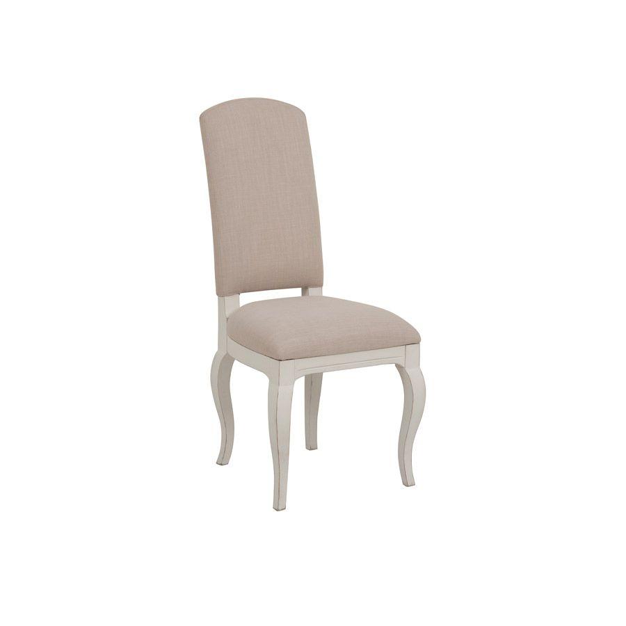 Chaise en tissu et hévéa - Provence