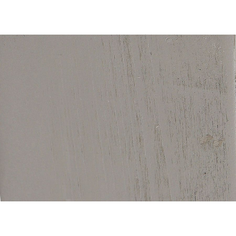 Lit 160x200 en épicéa massif gris tourterelle - Provence