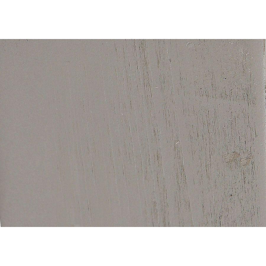 Lit 180x200 en épicéa massif gris tourterelle - Provence