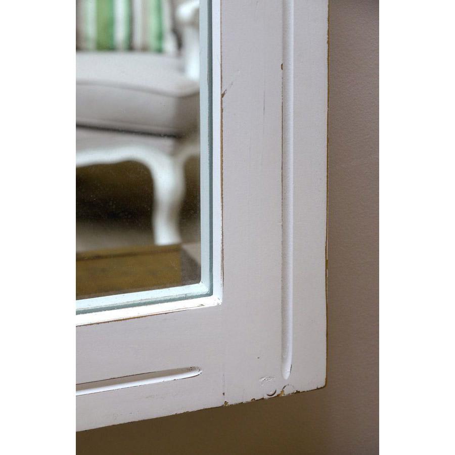 Miroir rectangulaire gris - Provence