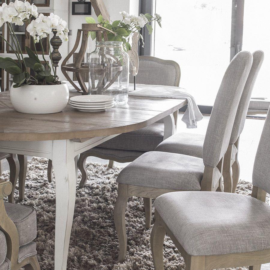 Table ronde extensible en épicéa massif 4 à 8 personnes - Provence
