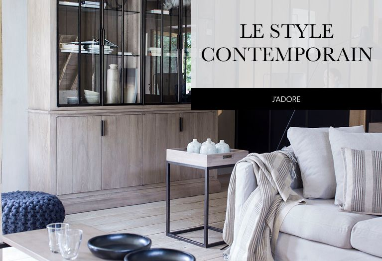 Redécouvrez le style contemporain