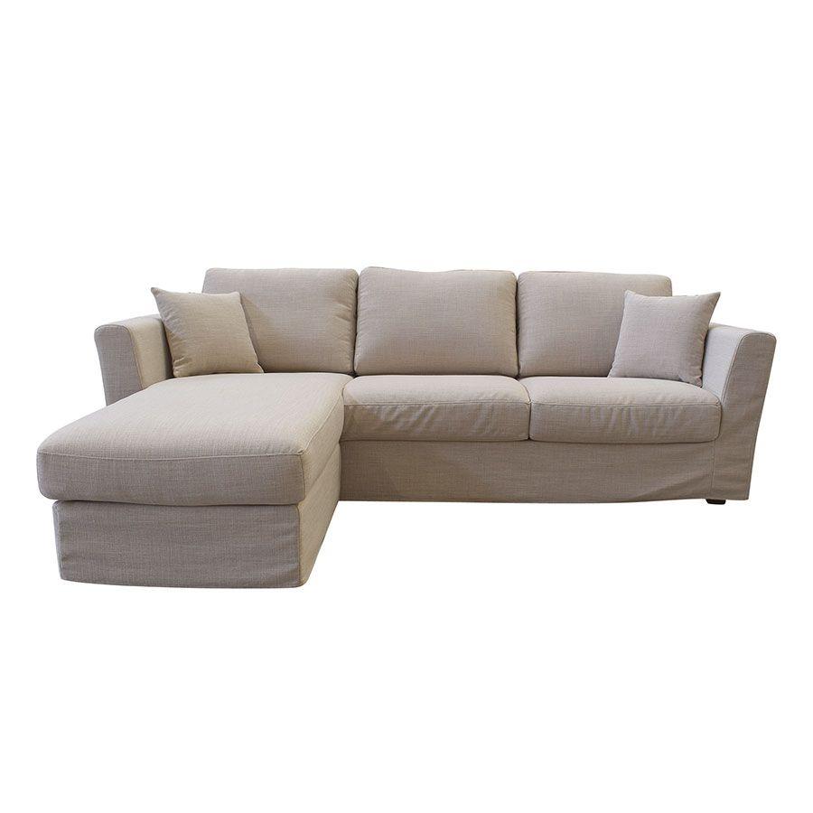 Canapé d'angle 5 places Tissu Confort