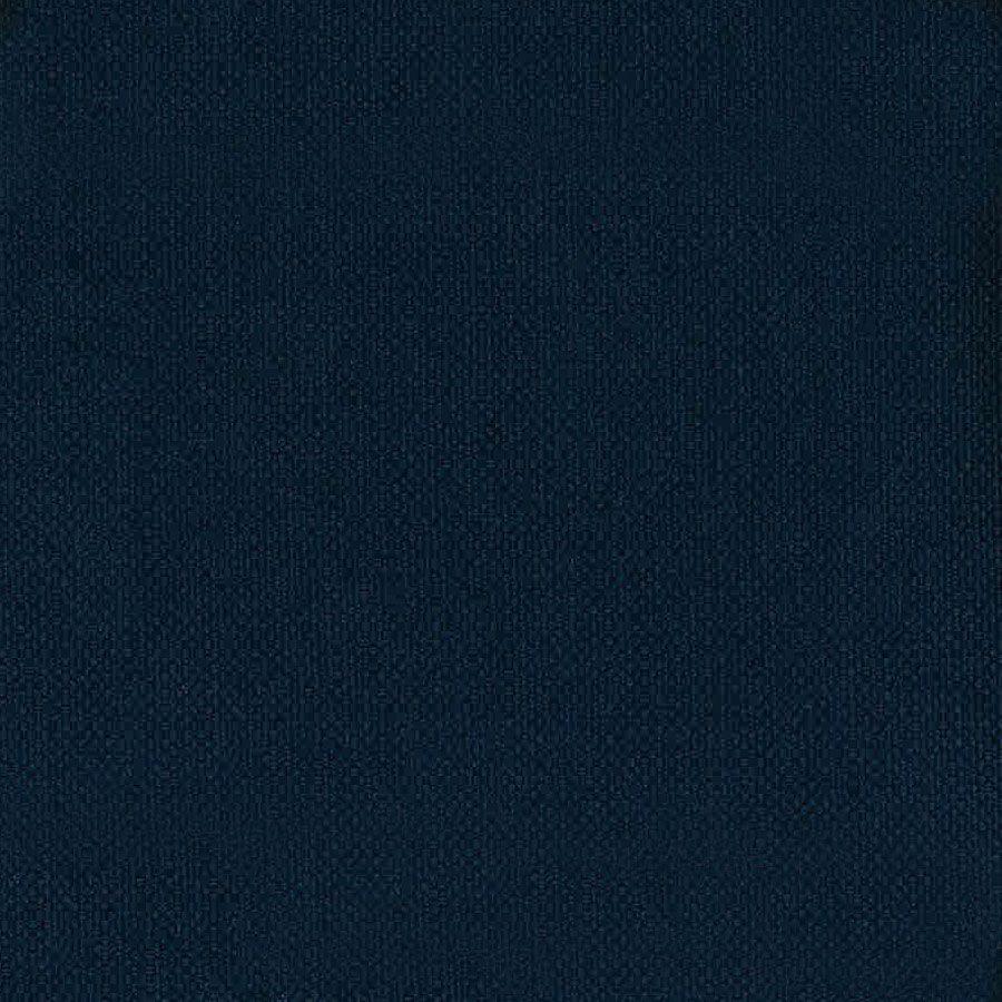 Canapé d'angle 5 places bleu en tissu - Boston