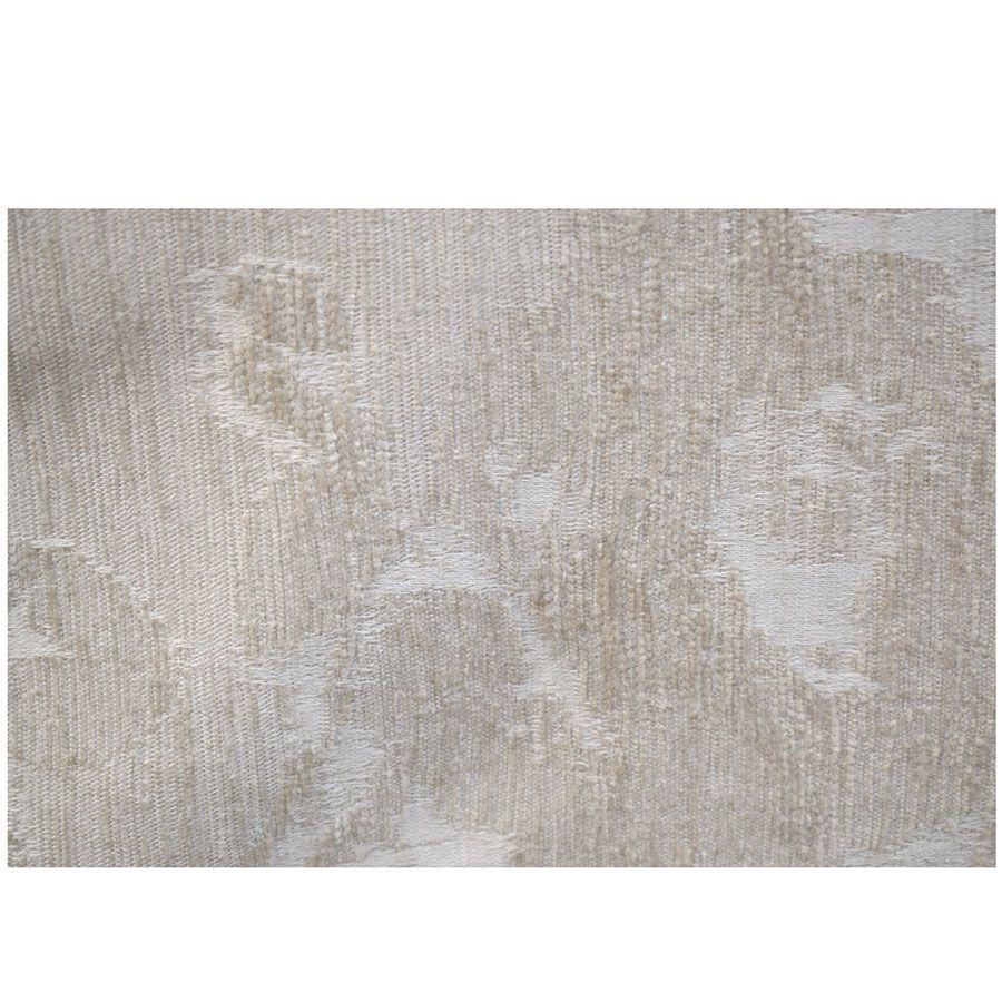 Fauteuil en tissu beige fleuri - Claridge
