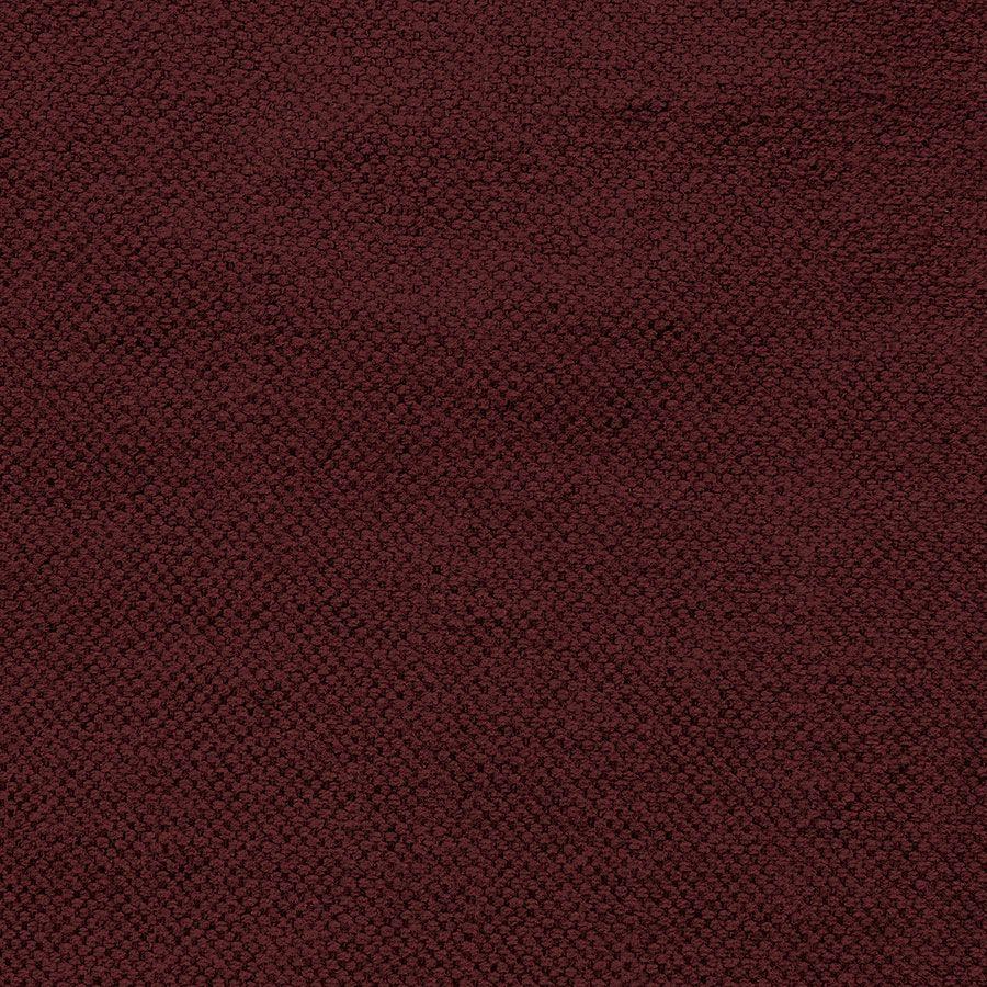 Fauteuil en tissu bordeaux  - Crowson