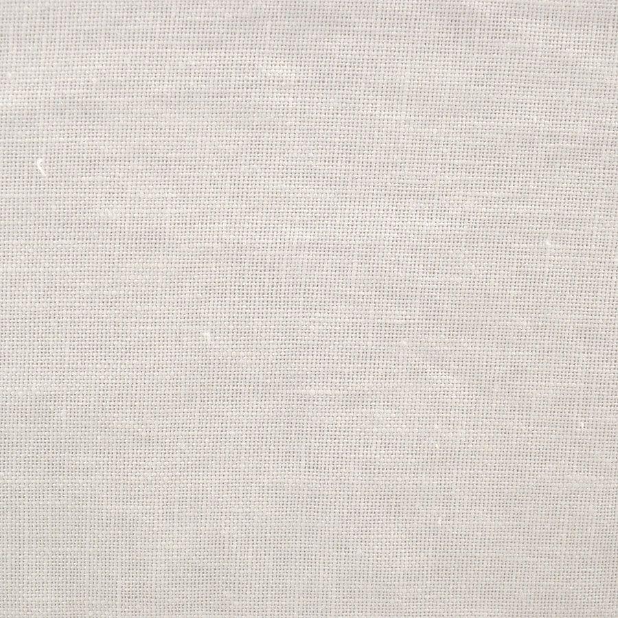 Canapé convertible 2 places en lin froissé blanc  - Welsh
