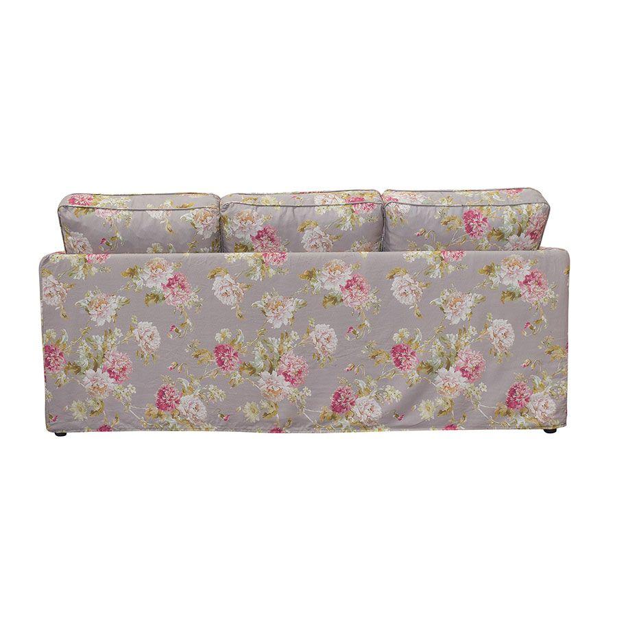 Canapé 4 places en tissu nancy pebble - Welsh