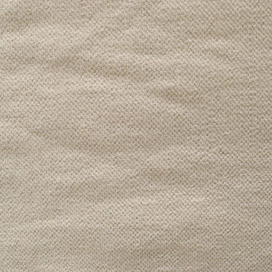 Canapé 2 places en tissu couleur lin beige - mini Welsh