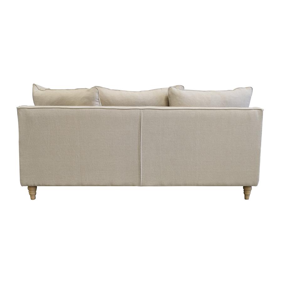 Canapé 4 places en lin naturel - Rivoli