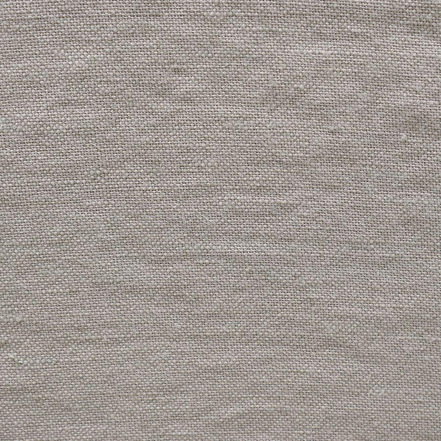 Fauteuil en lin froissé gris clair - Brisbane