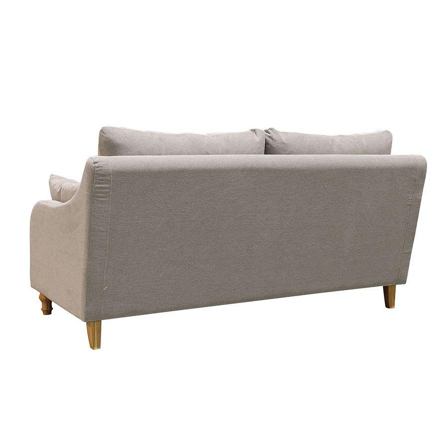Canapé 3 places en tissu naturel - Vendôme