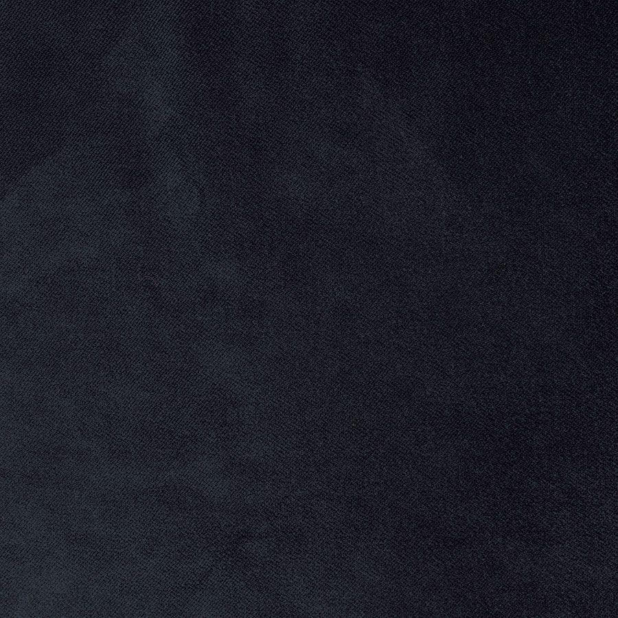 Canapé 4 places en velours bleu paon  - Vendôme