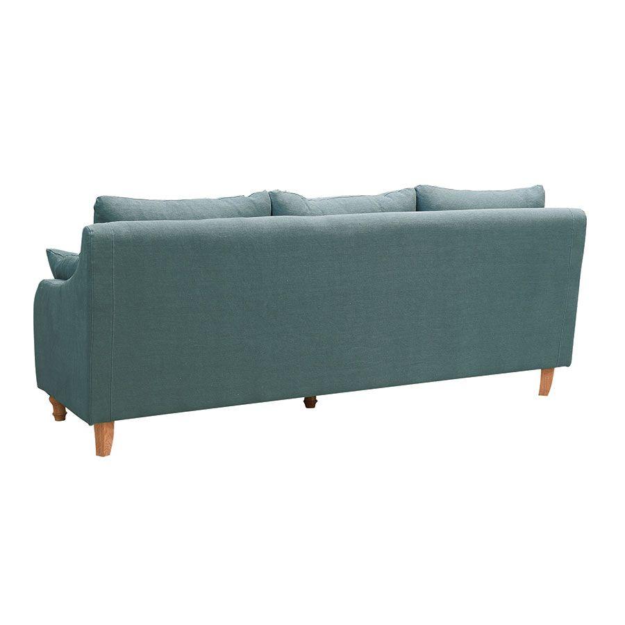 Canapé 4 places en lin céladon - Vendôme