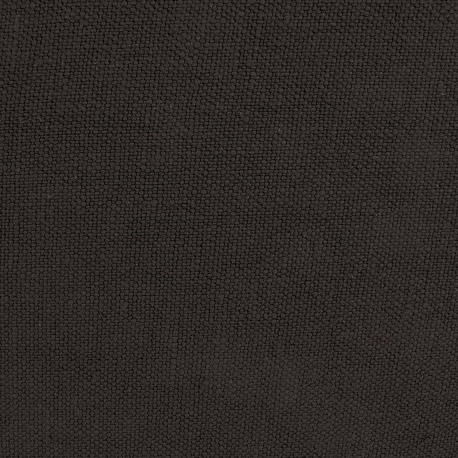Canapé 2 places en tissu lin anthracite - Rivoli