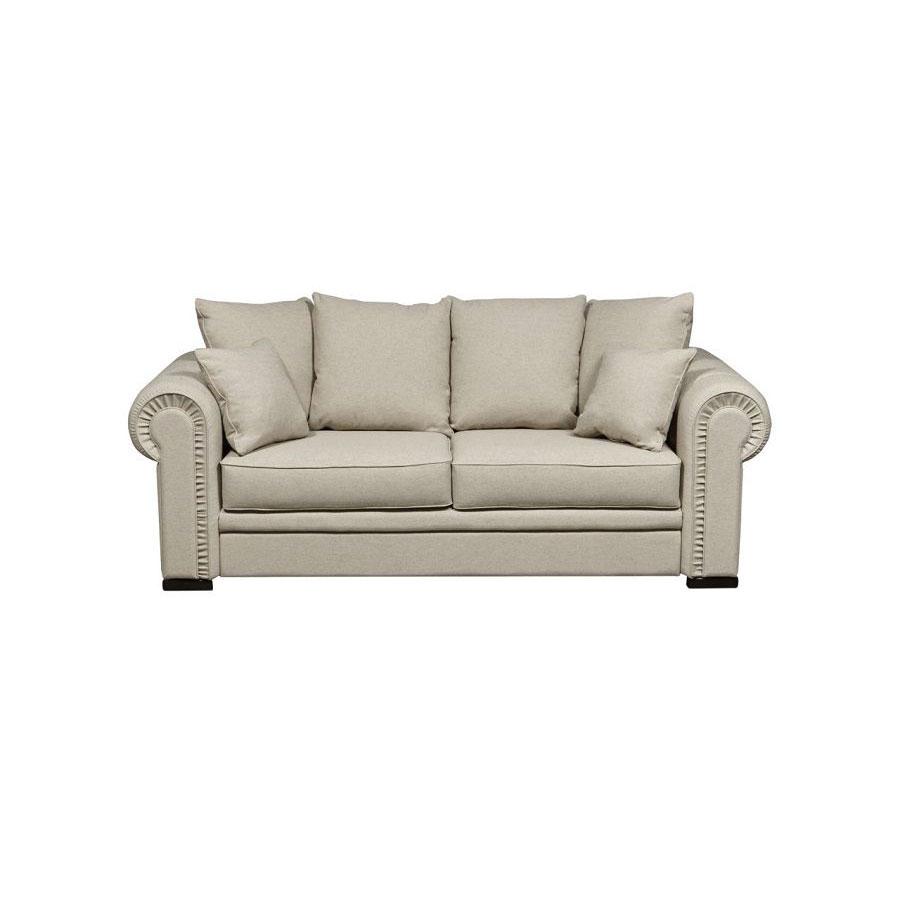 Canapé 3 places en tissu ficelle - Bellagio