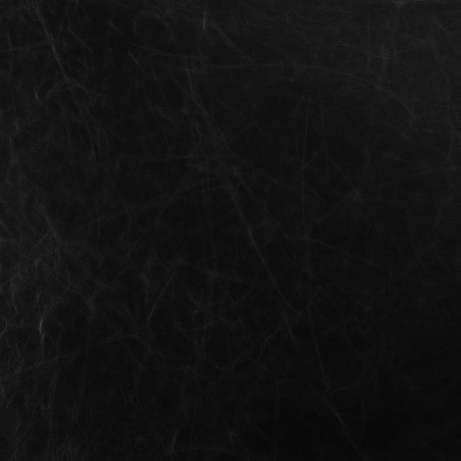 Canapé en cuir noir 3 places - Darwin