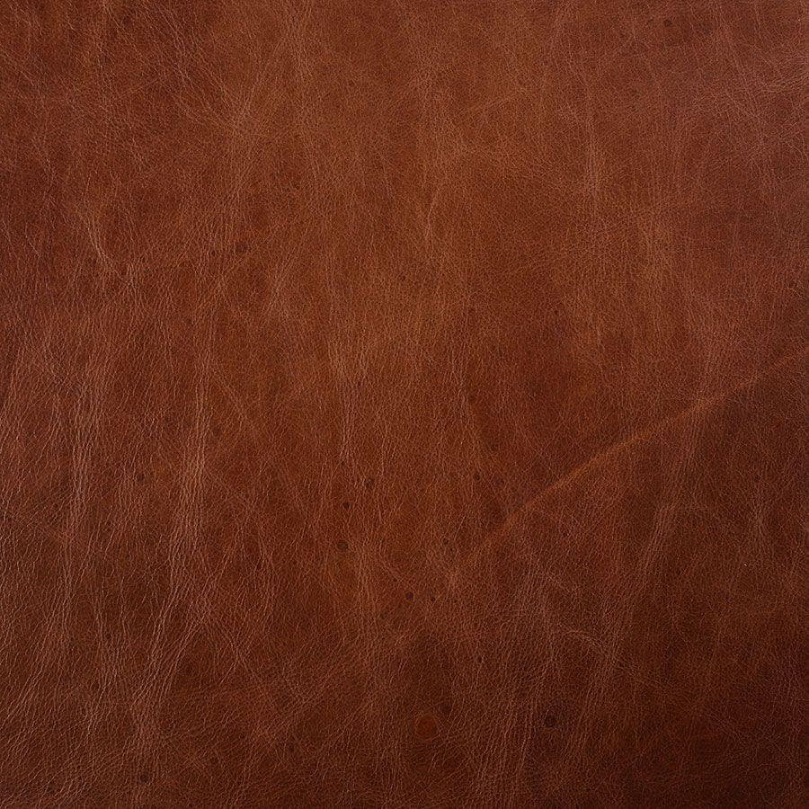 Canapé en cuir 3 places marron Riders Mocha - Stanford