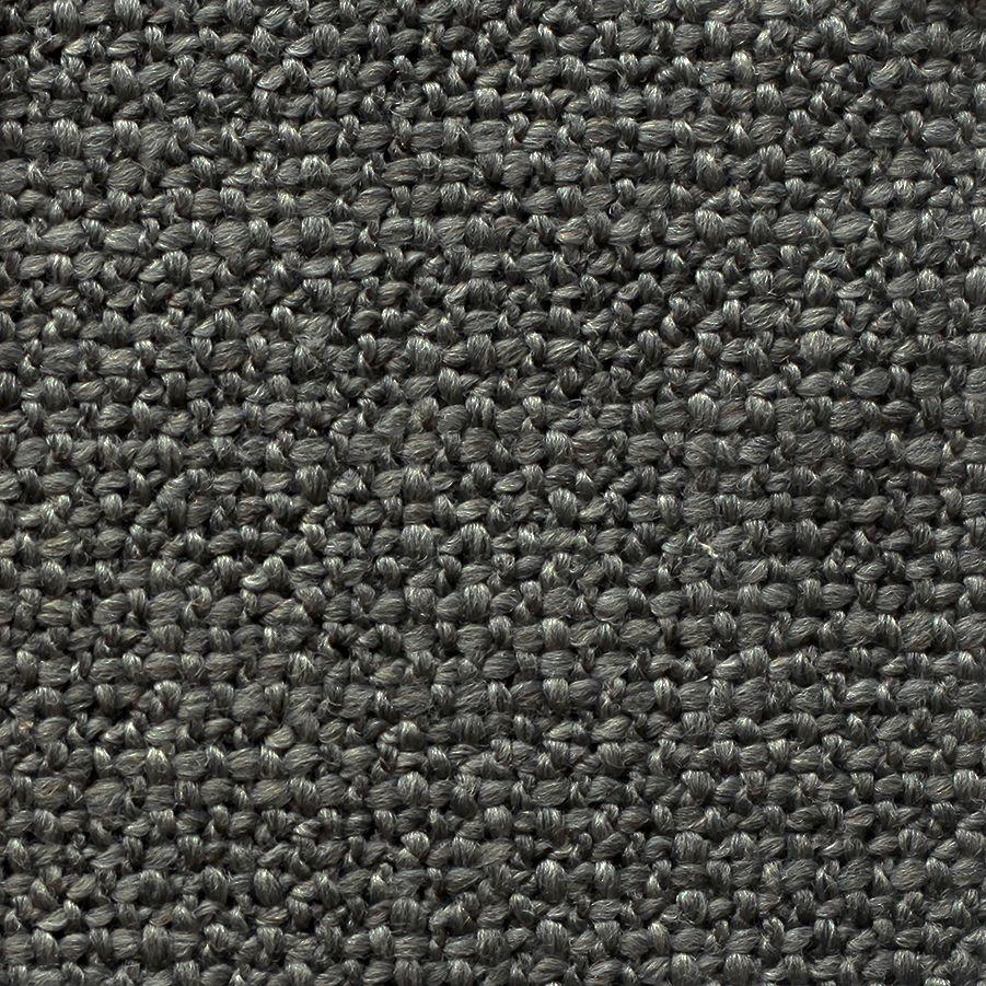 Canapé d'angle 5 places en tissu gris partie droite - Baltimore