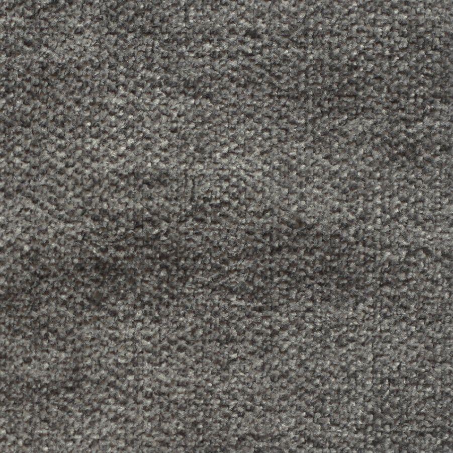 Corner droit en tissu gris - Syracuse