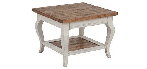 Table basse carrée petit format