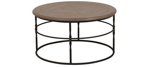 Table basse style néo-industriel