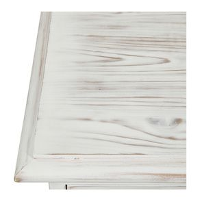 Commode 5 tiroirs en épicéa nuage de blanc - Natural - Visuel n°9