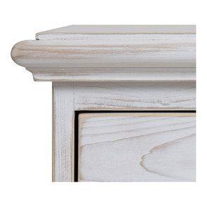 Commode 6 tiroirs en épicéa nuage de blanc - Natural - Visuel n°9