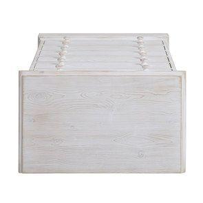 Commode 6 tiroirs en épicéa nuage de blanc - Natural - Visuel n°8