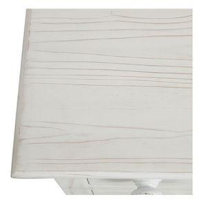 Commode de mercerie 9 tiroirs en épicéa nuage de blanc - Natural - Visuel n°10