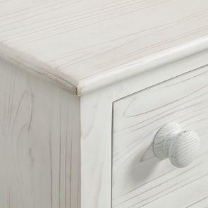 Commode de mercerie 9 tiroirs en épicéa nuage de blanc - Natural - Visuel n°11