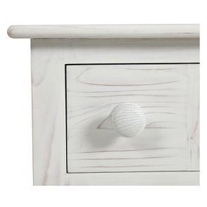 Commode de mercerie 9 tiroirs en épicéa nuage de blanc - Natural - Visuel n°12
