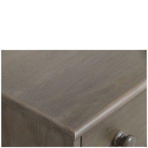 Commode de mercerie 22 tiroirs en épicéa brun fumé grisé - Natural - Visuel n°12