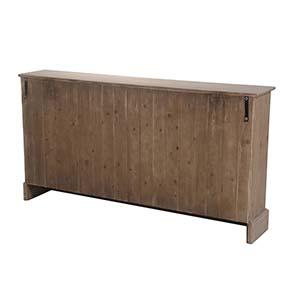 Commode de mercerie 22 tiroirs en épicéa brun fumé grisé - Natural - Visuel n°5