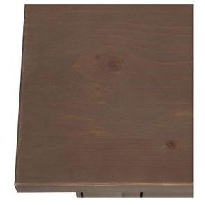 Console 3 tiroirs en épicéa brun fumé - First - Visuel n°9