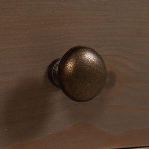 Bout de canapé contemporain en épicéa brun fumé grisé - First - Visuel n°13