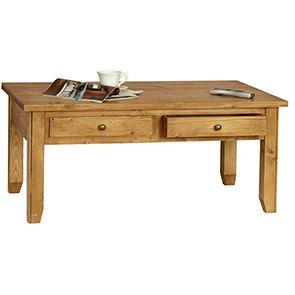 Table basse rectangulaire contemporaine en épicéa - First - Visuel n°3