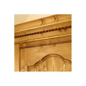 Armoire penderie bonnetière 1 porte en épicéa - Natural - Visuel n°4