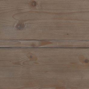 Armoire penderie 2 portes 2 tiroirs en épicéa brun fumé grisé - First - Visuel n°11