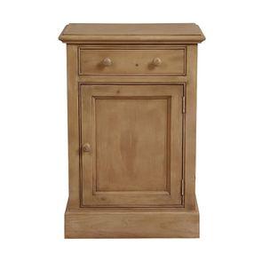 Petit meuble de rangement en épicéa naturel cendré - Natural